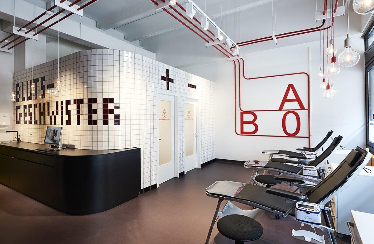 Blood Donation Room On The Hamburg University Campus Brandherm